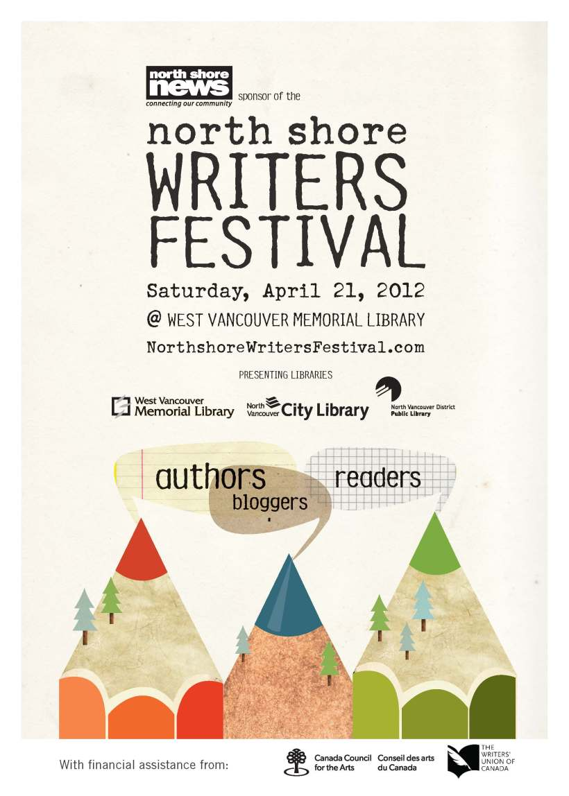North Shore Writers Festival Poster